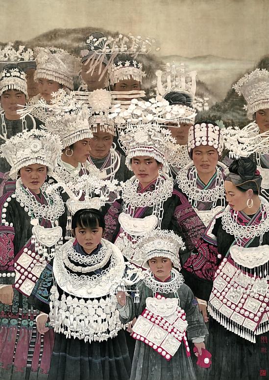 时代画风 当代中国工笔20家作品展 - 老排长 - 老排长(6660409)