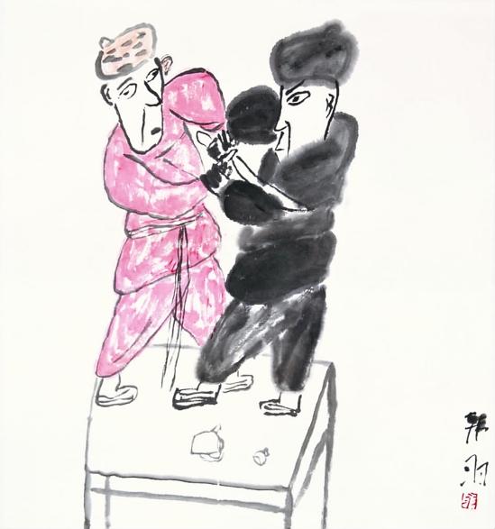 [转载]写意中国路中国国家画院2010大写意国画邀请展