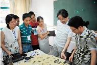"""书法教师""""蒲公英计划""""的始业教育课中,我又提到:前不久中国书协在济南图片"""