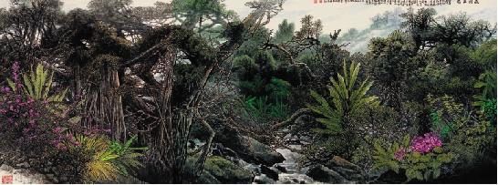 李刚作品  森林王国图片